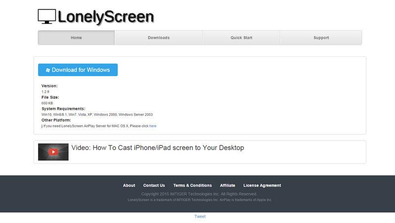 LonelyScreen1 iphoneのミラーリング9